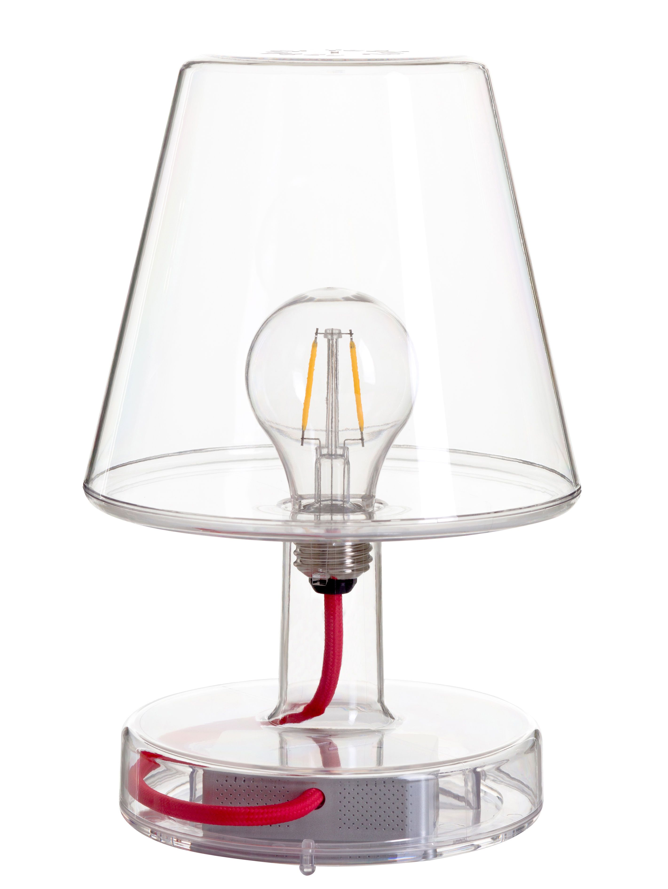 Fatboy Transloetje Wireless Lamp Transparent Made In Design Uk Lamp Portable Led Lights Small Table Lamp