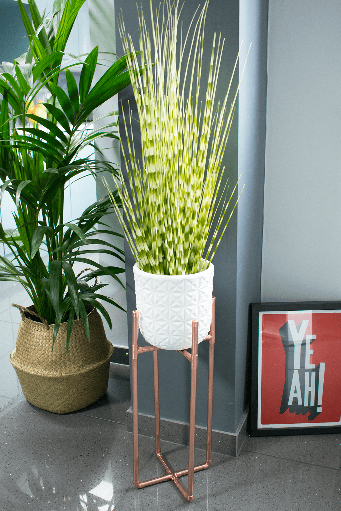 How To Make A Diy Copper Plant Stand Indoor Palms Plant Pot Diy