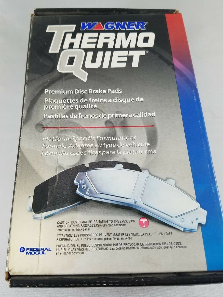 NIB! WAGNER THERMO QUIET Ceramic Brake Pads PD1028