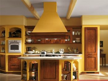 Cucine con pareti gialle cerca con google mustard for Piani di casa francese in tudor