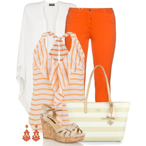 striped tote by divacrafts on Polyvore featuring maurices, Phase Eight, aprico, Kate Spade, Amrita Singh and Original