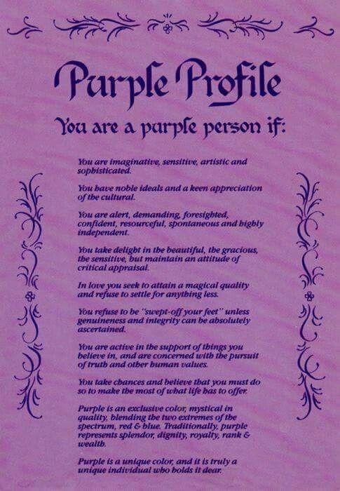 Purple Person