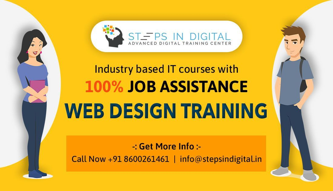 Steps In Digital Training Institute Is Provide Complete Web Development Course In Pune Classes Lik Web Development Course Marketing Courses Web Design Training