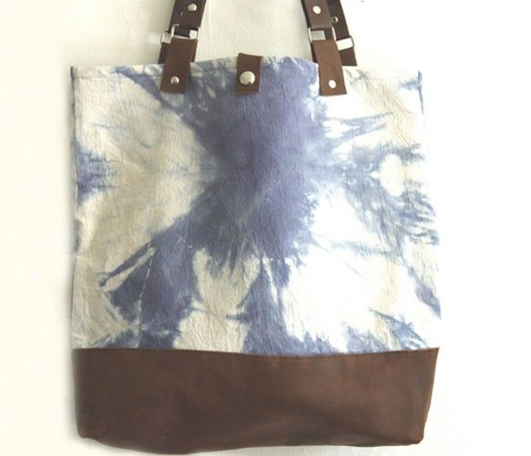 {Naturally Dyed Tote} by Grace Design
