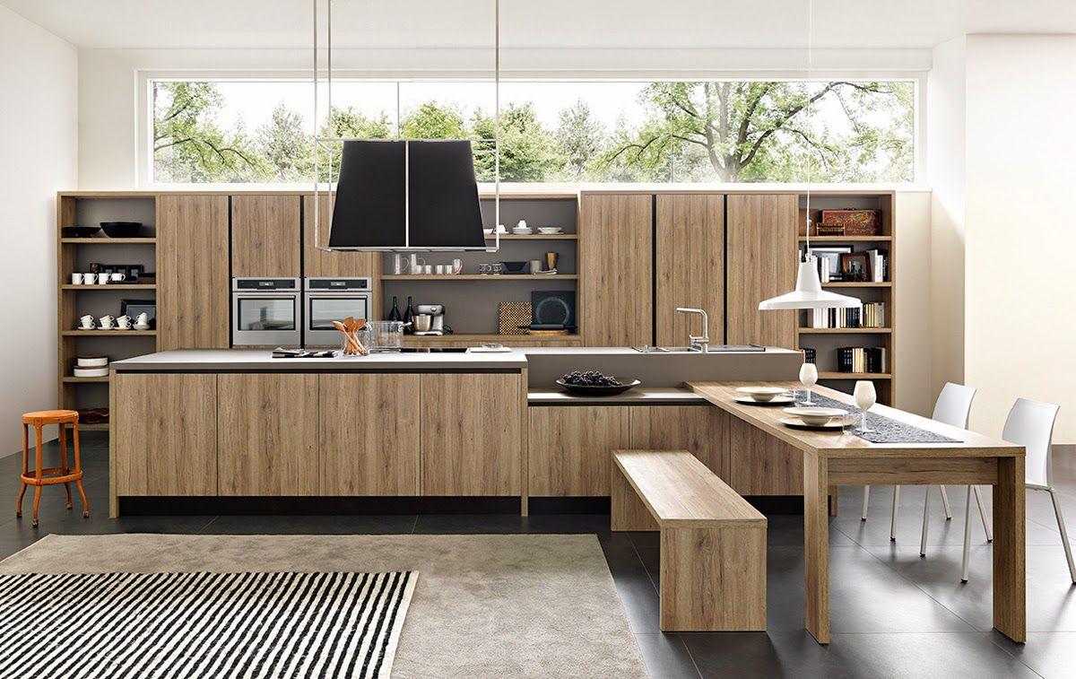 Una # cucina che coniuga elementi della tradizione con ...