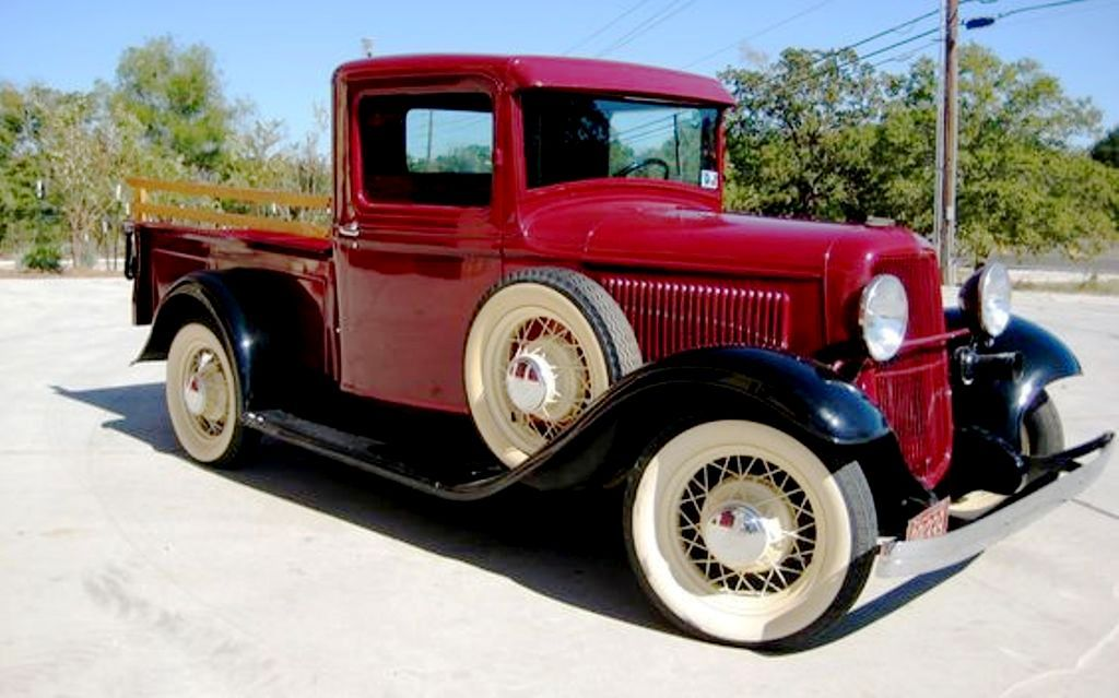 1933 Ford B Model Pickup Truck Pickup Trucks Ford Trucks