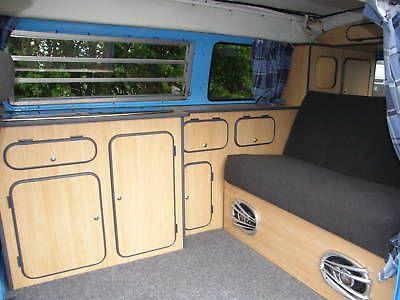 Vw Type 2 Bay Window Camper Van Interior Furniture Conversion