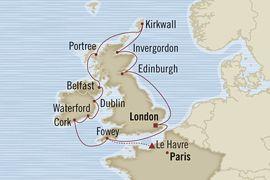 Oceania- British Isles Tour