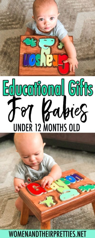 Educational toys, games, and books for babies under 12 ...