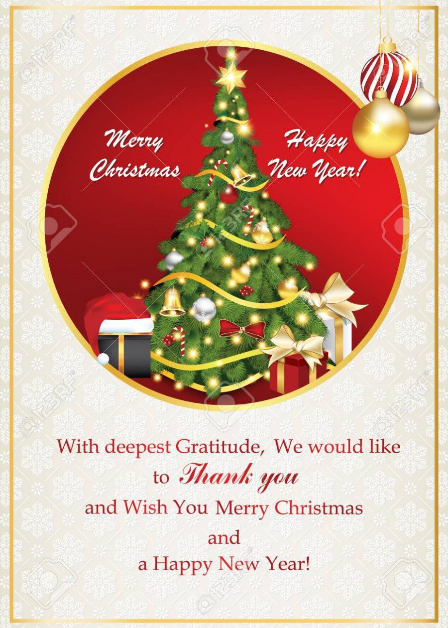 Christmas Business Card Messages Invitationcard
