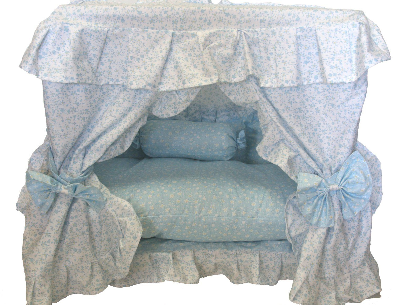 small dog beds | Bellau0027s Handmade Luxury Princess Dog Bed w/ Canopy CHECK PRICE  sc 1 st  Pinterest & small dog beds | Bellau0027s Handmade Luxury Princess Dog Bed w ...
