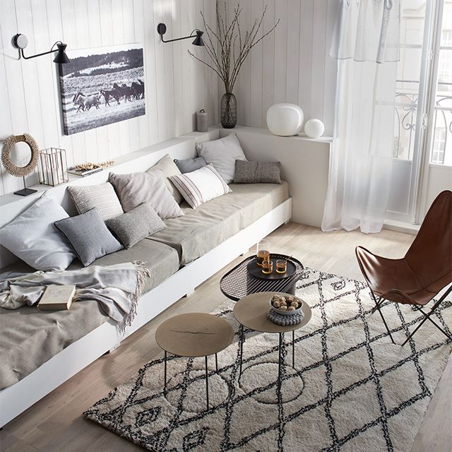 tapis berb re 230 x 160 cm castorama salle de jeux. Black Bedroom Furniture Sets. Home Design Ideas