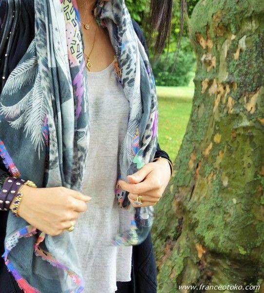 Astrojungle scarf on France Otoko's blog