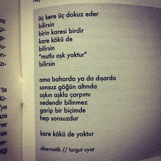 Turgut Uyar şiirleri Fotoğraf şiir Quotes Books Words