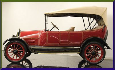 1915 Reo Five Passenger Touring Car With Images Car Vintage