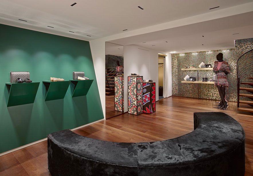 Le pop-up store Chanel à Courchevel, jusqu'au 5 avril 2015, situé Immeuble l'ISBA, Courchevel 1850
