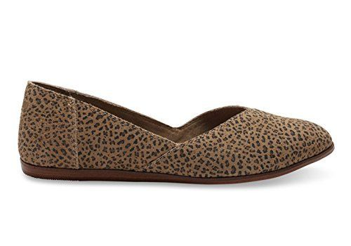 93bd1c2bb59 TOMS Women s Jutti Flat Cheetah Suede Printed Flat 5 B (M)    Learn more by  visiting the image link. (This is an affiliate link)  WomensFlats