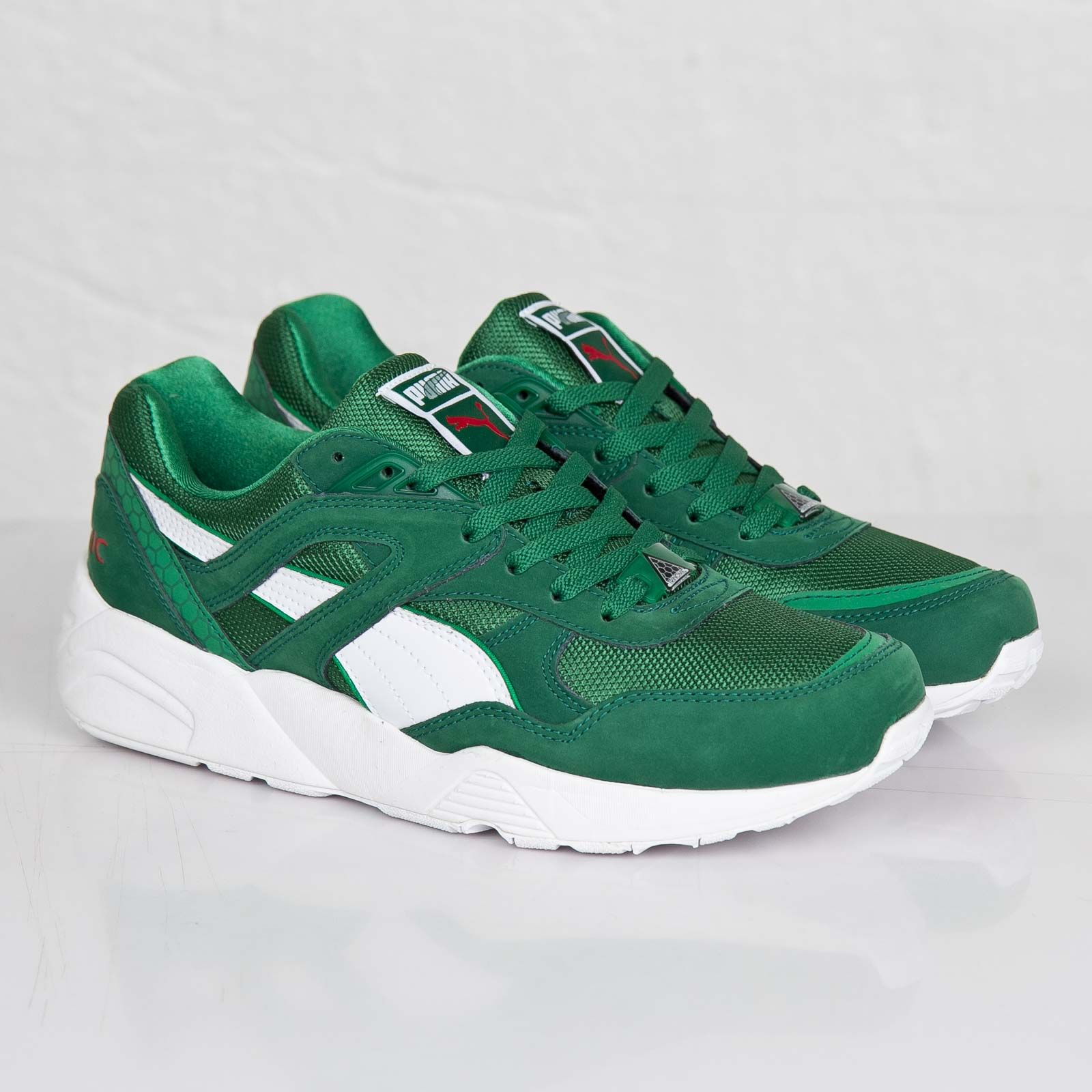 PUMA Trinomic R698 x Green