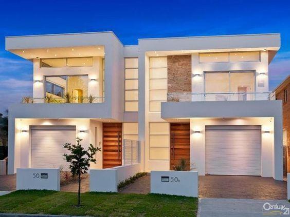 Modern Duplex Designs Google Search Projetos De Casas