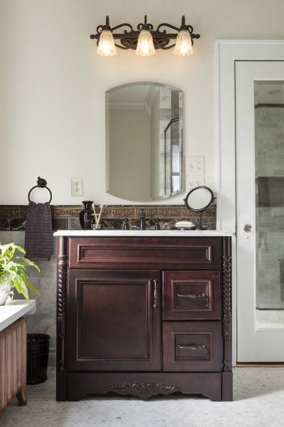 Elevate Your Bathroom With Timeless Upgrades An Espresso Vanity