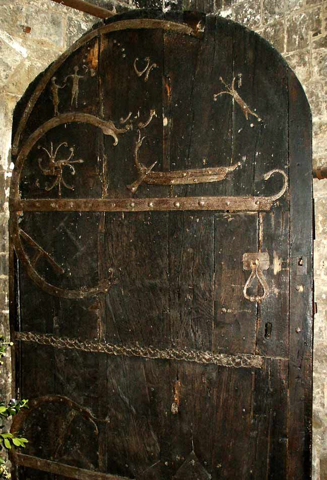 Cedar door Stillingfleet church Yorkshire by viking craftsman circa 1185. & Cedar door Stillingfleet church Yorkshire by viking craftsman ... pezcame.com