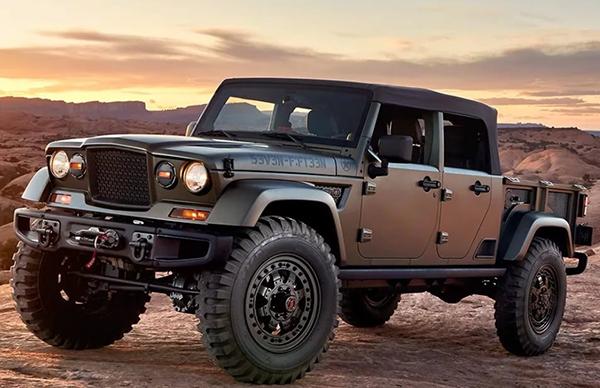 2020 Jeep Pickup Changes Jeep Pickup Trucks Jeep Scrambler