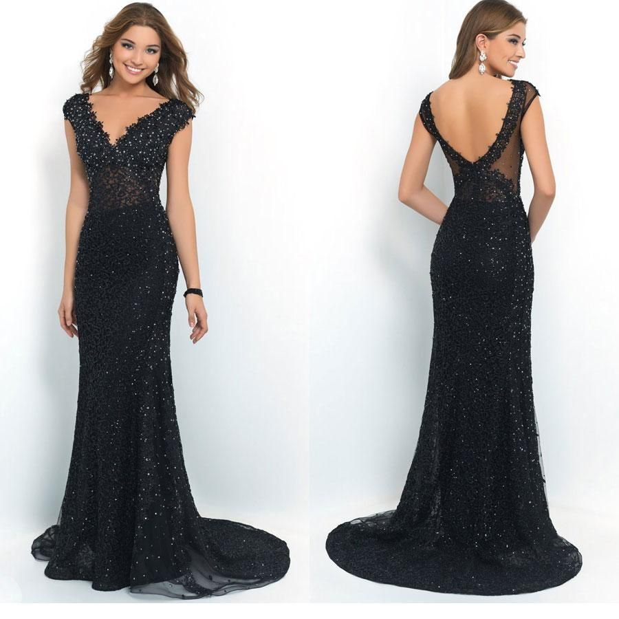 Mermaid prom dress sexy mermaid prom dresses lace applique crystals