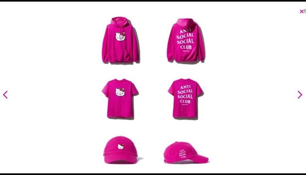 8b3085e6f8317 Anti Social Social Club ASSC x Hello Kitty Bundle(HoodieT Shirt and Hat) XS   fashion  clothing  shoes  accessories  mensclothing  shirts (ebay link)