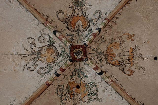 Groningen, Martinikerk, south aisle, vault, detail