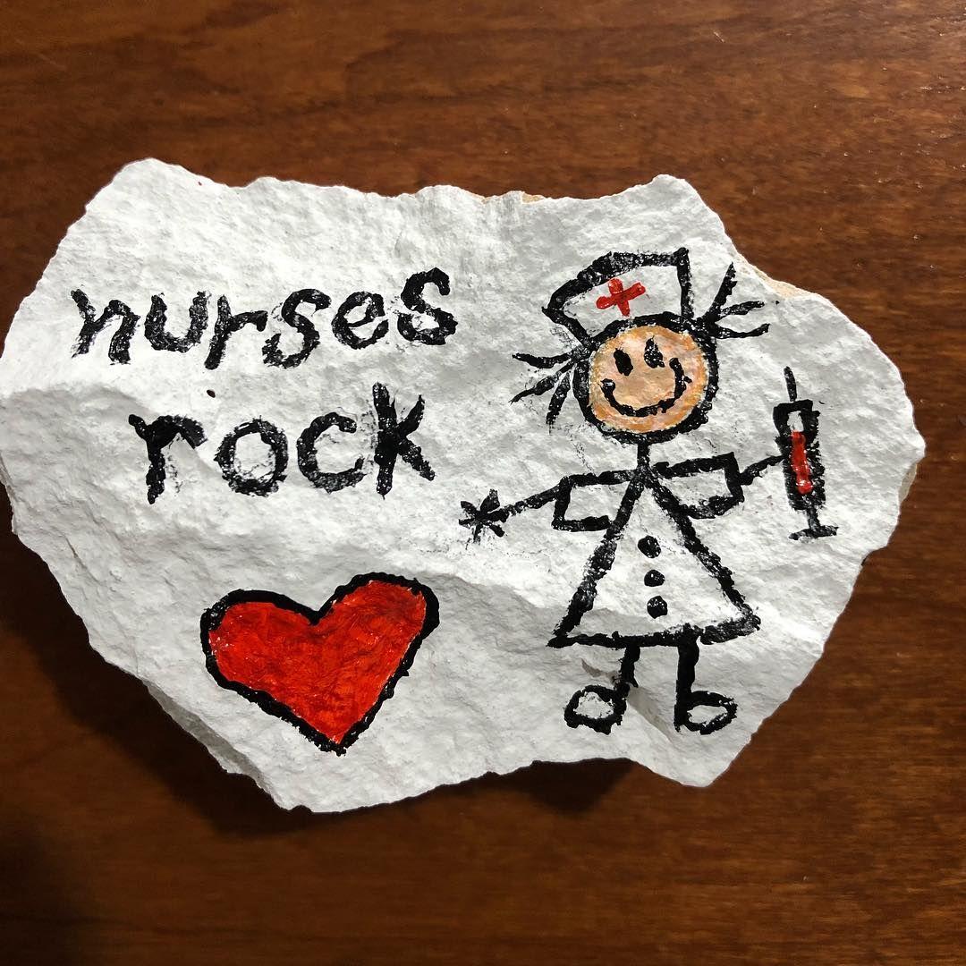 Nursing Jobs Near Me 2019 Stone painting, Rock art