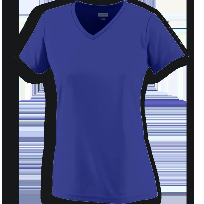 Ladies Short Sleeve VNeck Collar TShirt Womens shorts