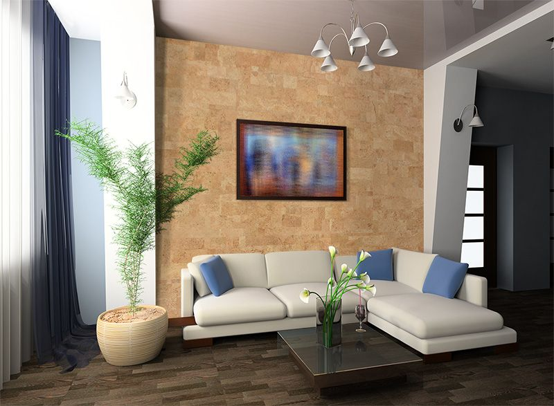 Leather 6mm Cork Tile Wall 22 Sq Ft Per Package Cork Wall Tiles Cork Wall Wall Tiles