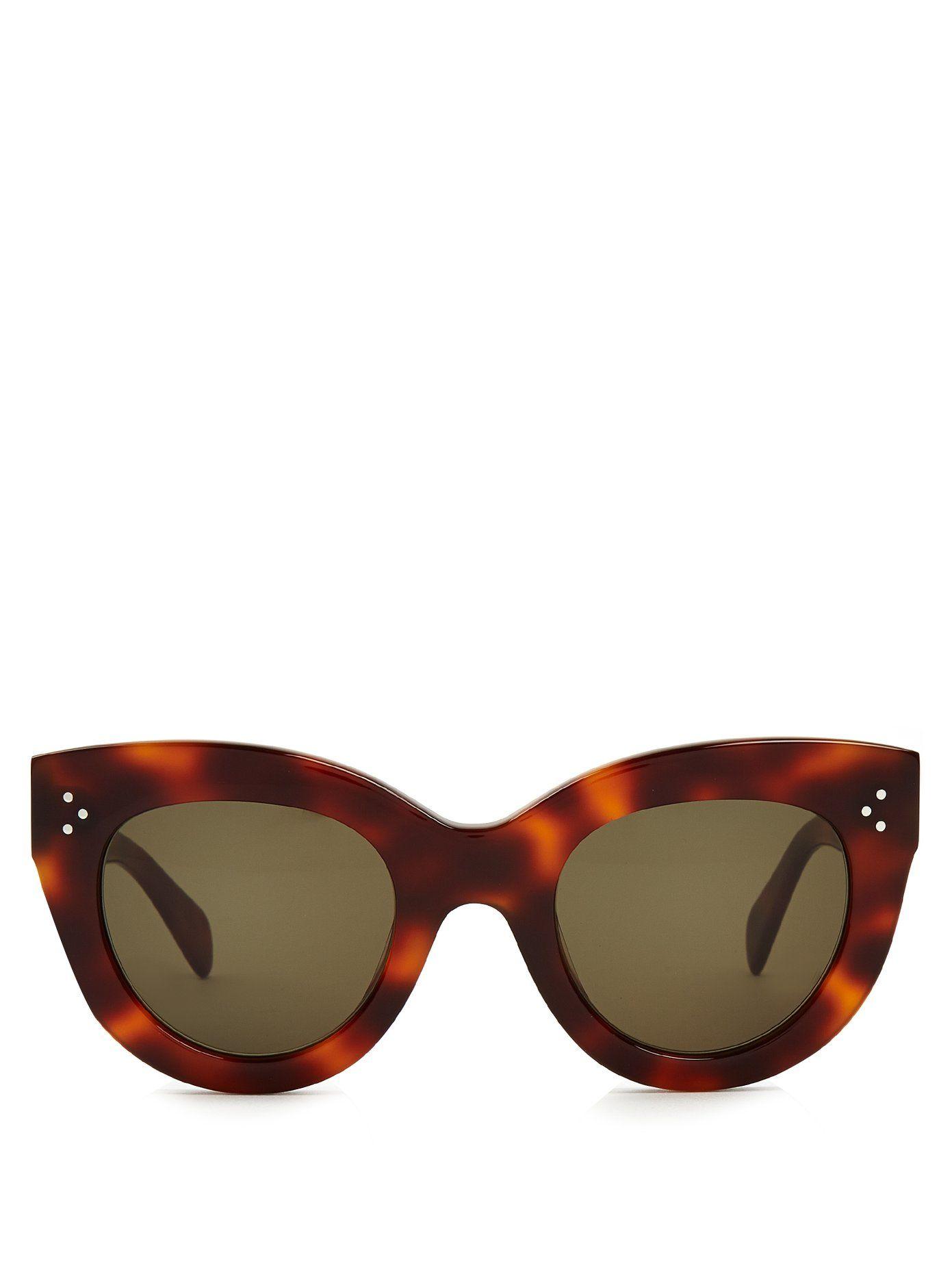 beabb51c079d Click here to buy Céline Eyewear Caty cat-eye acetate sunglasses at  MATCHESFASHION.COM