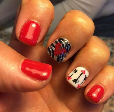 42 ideas for fails design easy red  nail designs