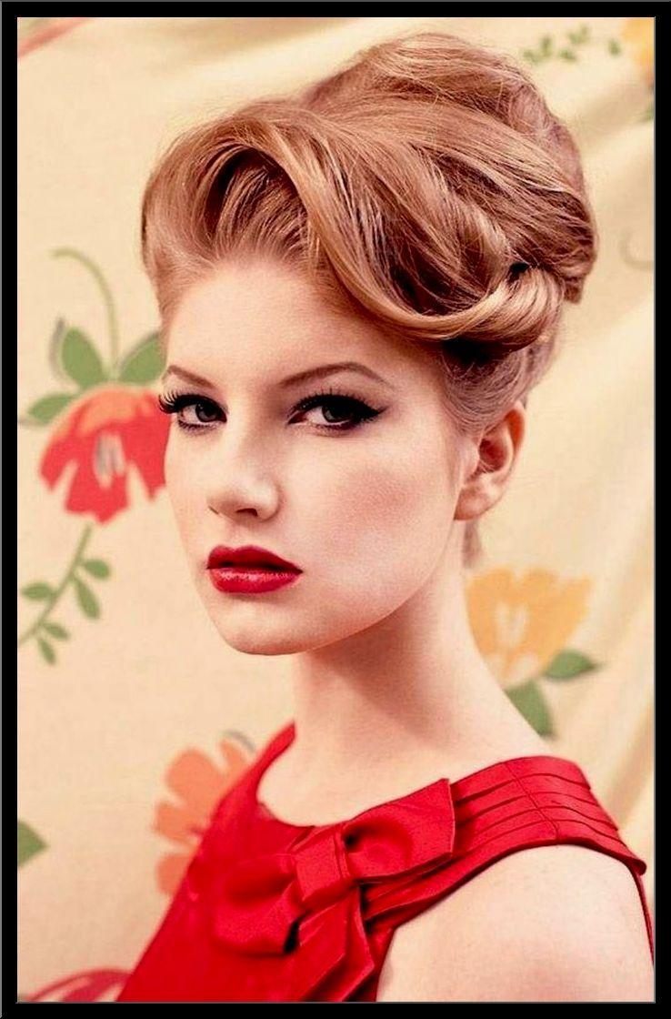 Bestes Von 50er Jahre Frisur Lange Haare Dekoration
