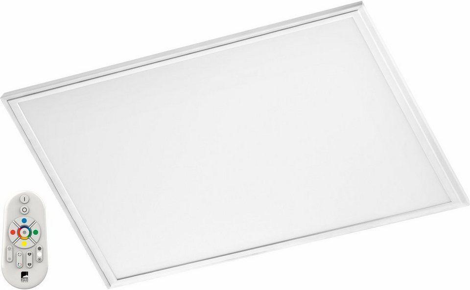EGLO LED Rasterleuchte »SALOBRENA-C«, LED-CCT-Lichtsteuerung bad