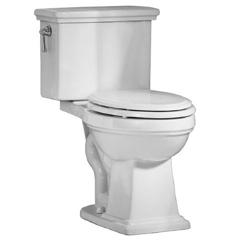 Laton Right Height Elongated Toilet American Standard Product