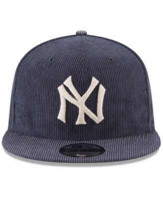 f5808bba700 New Era New York Yankees All Cooperstown Corduroy 9FIFTY Snapback Cap -  Blue Adjustable