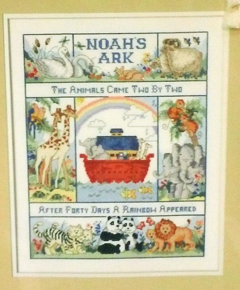 NOAH/'S ARK   CROSS STITCH PATTERN ONLY  YD  QYV