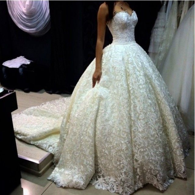 Ball gown - Wedding Dress M_1569