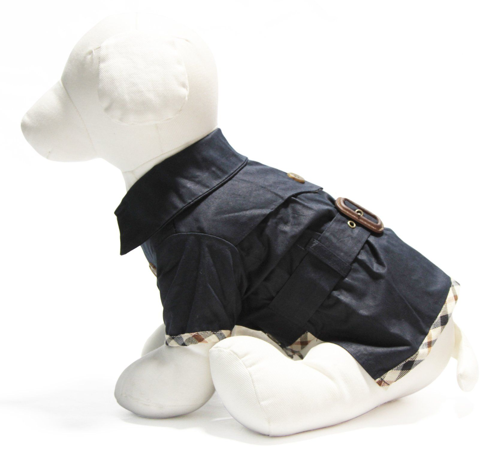 GOOBY Trench Coat für Haustiere Amazon.de Haustier   Haustiere ...