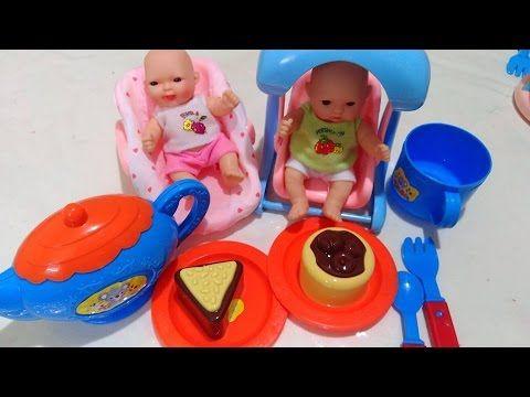 لعبة حفلة الشاي حلوى و بيتزا و أطفال بنات صغار و بالونات العاب بنات Dog Bowls Bowl Dogs