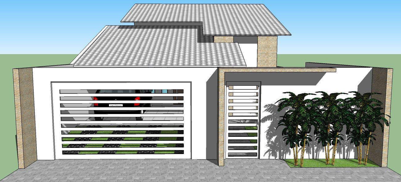 fachada de casas populares Pesquisa Google CASAS