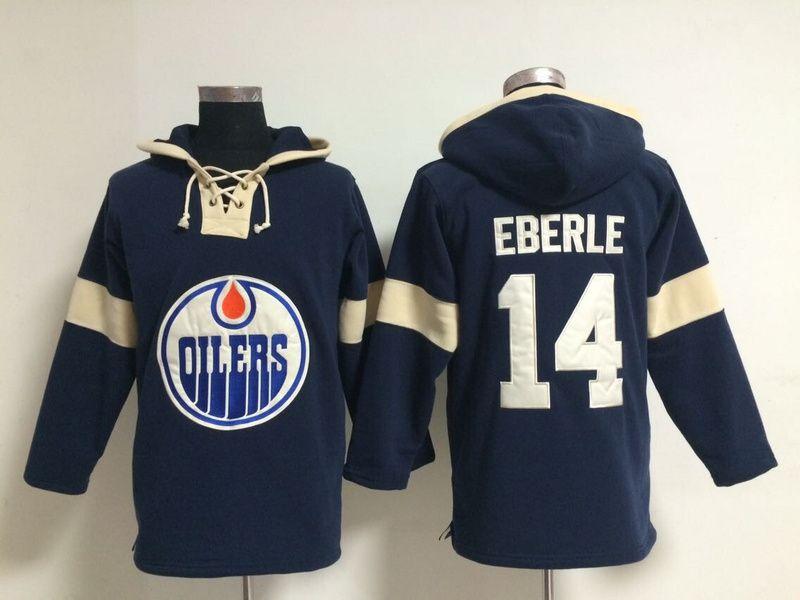 newest ce482 64d57 NHL Hoodies Jersey Edmonton Oilers #14 eberle blue Jersey ...