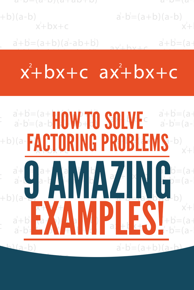 How To Solve Factoring Word Problems 9 Amazing Examples Word Problems Solving Word Problems Algebra Equations [ 1100 x 735 Pixel ]
