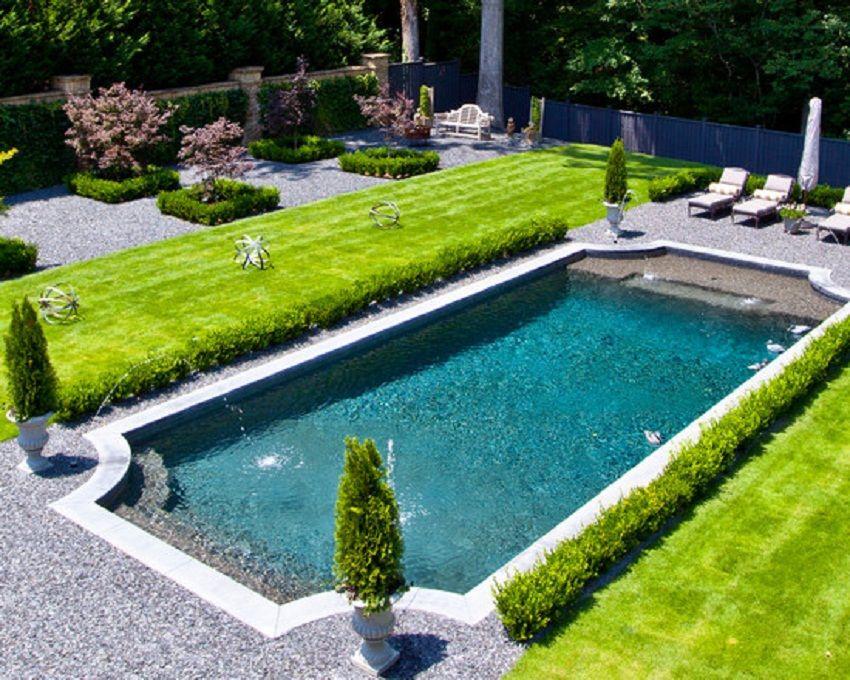 Beautiful Italian Style Garden Pool Design Layout Italian Style