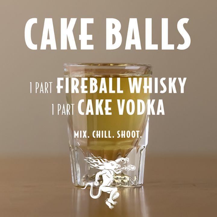 10 Awesome Fireball Shots To Try this Weekend Ill Drink To That