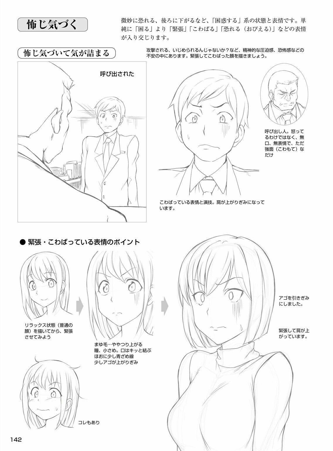 awkward Manga drawing tutorials, Drawing
