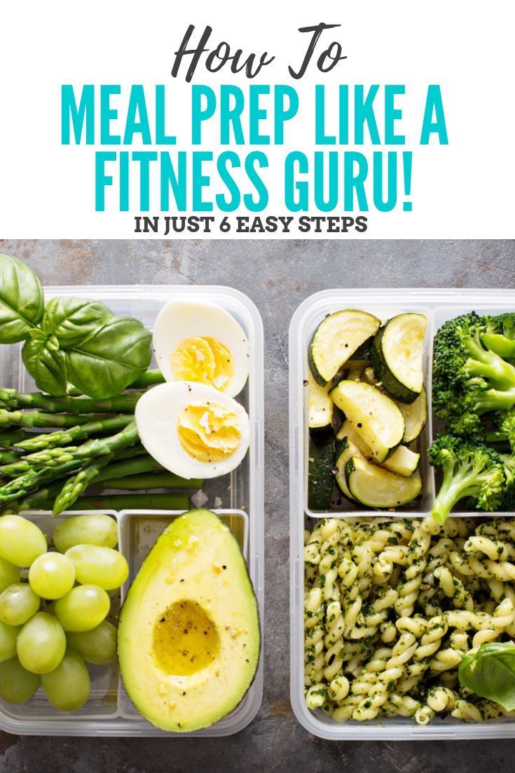 6 Easy Meal Prep Strategies for Weight Loss advise