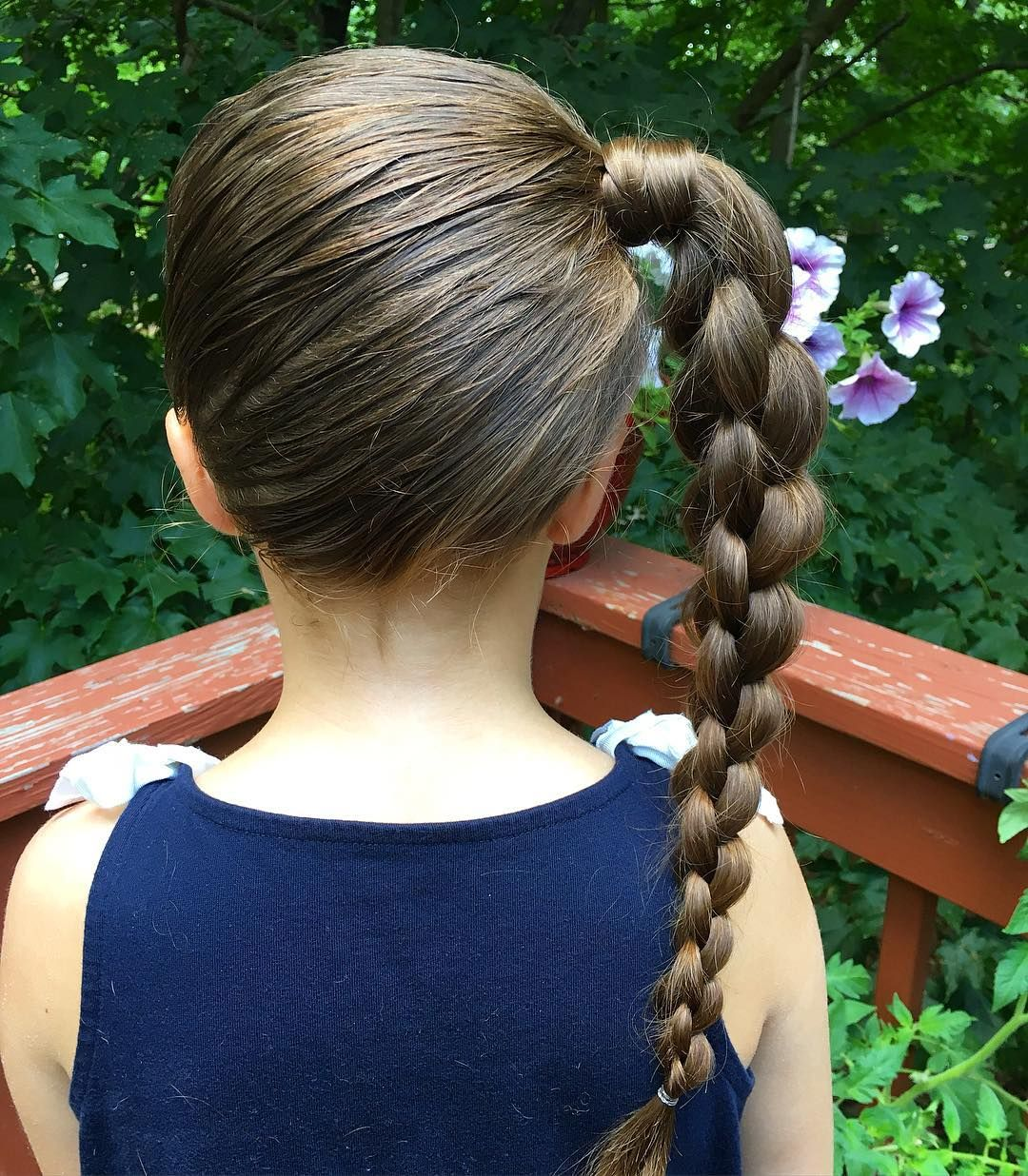 Simple Hairstyles For School For Little Girls